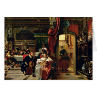 Senhor Anthony camionete Dyck em Londres, 1837 Cartão Comemorativo