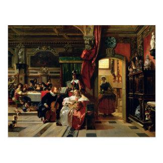 Senhor Anthony camionete Dyck em Londres, 1837 Cartão Postal