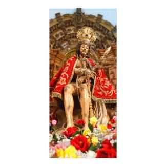 Senhor Bom Jesus a Dinamarca Pedra 10.16 X 22.86cm Panfleto