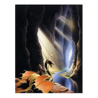 Senhor do cartão das cavernas