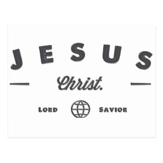 Senhor e salvador cartão postal