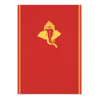 Senhor Ganesh Casamento Convite
