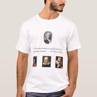 Senhor Isaac Newton Camiseta