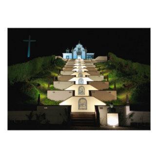 Senhora a Dinamarca Paz - Açores Convites Personalizados