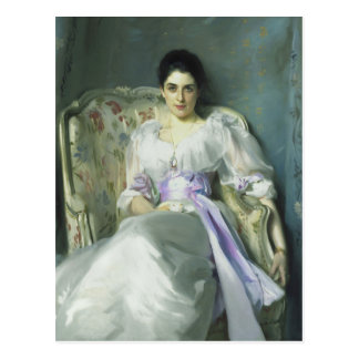 Senhora Agnew Cartão de John Singer Sargent