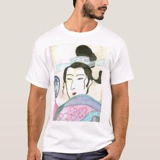 Senhora asiática camiseta