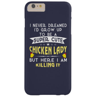 Senhora bonito super da galinha capa barely there para iPhone 6 plus
