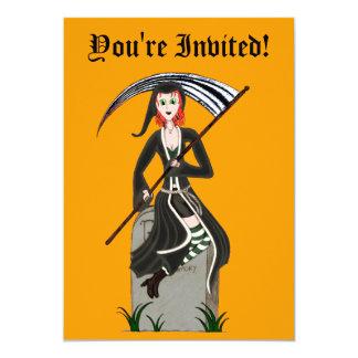 Senhora Ceifeira Convite Personalizados