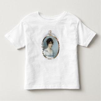 Senhora da família sem corte (w/c e gouache no camiseta infantil