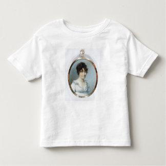 Senhora da família sem corte (w/c e gouache no t-shirts