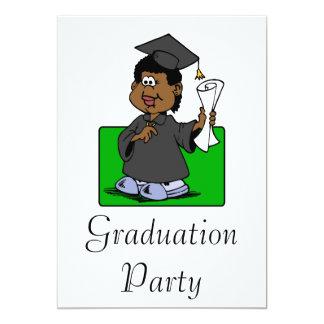 Senhora da graduação convites personalizados