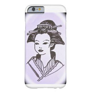 Senhora da gueixa capa barely there para iPhone 6