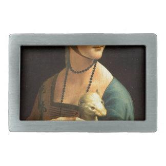 Senhora da pintura de Da Vinci original com um