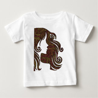 Senhora de fascínio camiseta para bebê