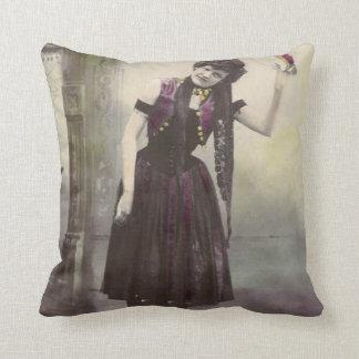 Senhora Descansar do pandeiro Travesseiro De Decoração