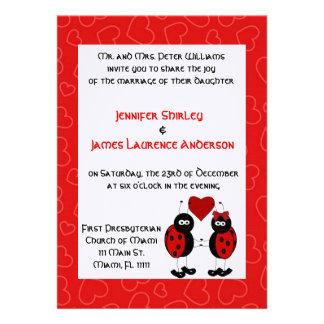 Senhora Desinsetar Casamento Convite