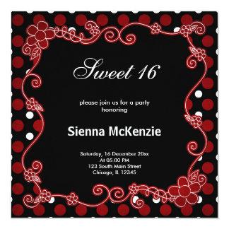 Senhora Desinsetar do doce 16 Convite Personalizados