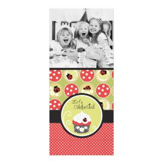 Senhora Desinsetar modelo da foto do aniversário Convites Personalizados