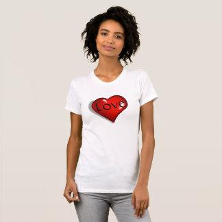 Senhora do amor e do coração camiseta