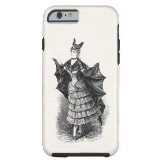 Senhora do bastão do vintage capa tough para iPhone 6