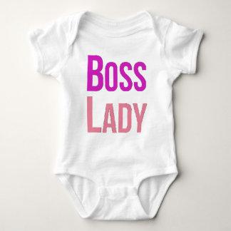 Senhora do chefe body para bebê