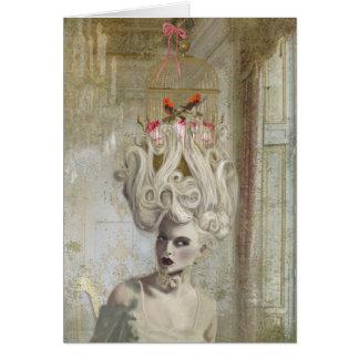 Senhora do perdão, cartão comemorativo