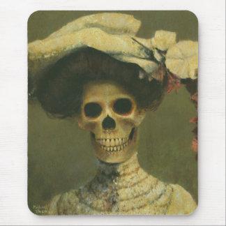 Senhora gótico Esqueleto Mousepad