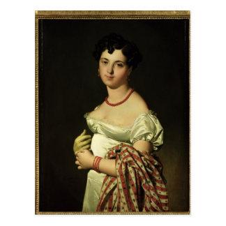 Senhora Henri-Philippe-Joseph Panckouke 1811 Cartão Postal