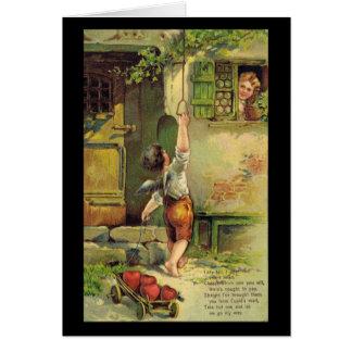 Senhora Justo Namorados Cartão