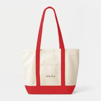 senhora kay bolsas de lona