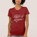 Senhora Lazer Escuro Tshirt