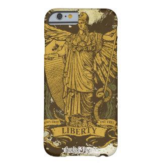 Senhora Liberdade Caso de Libertas Capa Barely There Para iPhone 6