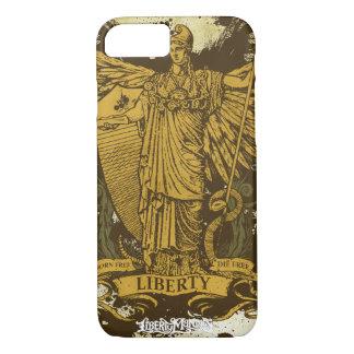 Senhora Liberdade Caso de Libertas Capa iPhone 7