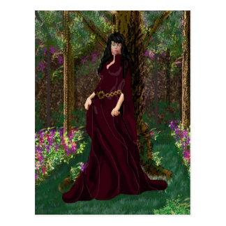 Senhora no cartão de Forrest