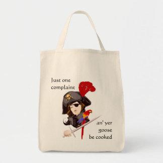 Senhora Pirata Mantimento o Bolsa