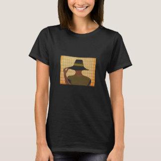 Senhora sofisticada camiseta