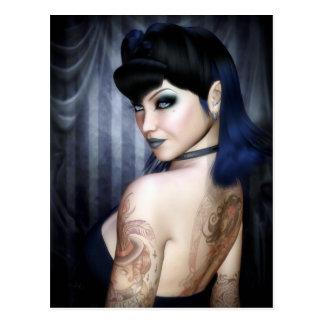 Senhora Sophie Vampiro Rainha Cartão