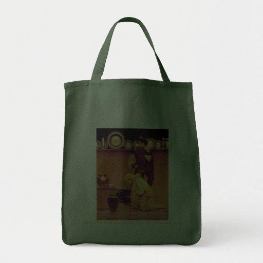 Senhora Violetta e valete, 1923 Bolsas Para Compras