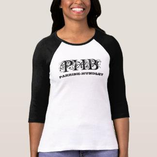 Senhoras 3/4 de Raglan da luva PHB Tshirt