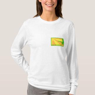 Senhoras - camiseta encapuçado