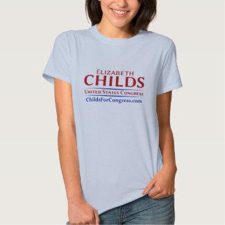 Senhoras Childs para o ` do t-shirt do congresso