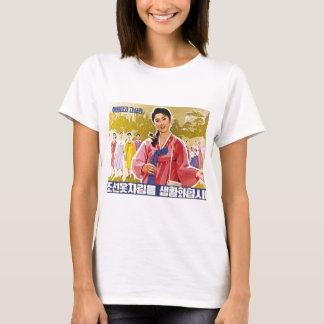 Senhoras coreanas que vestem Hanbok Camiseta