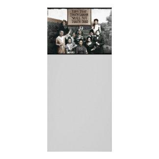 Senhoras da proibição 10.16 x 22.86cm panfleto
