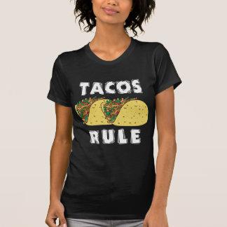Senhoras da regra do Tacos Camisetas