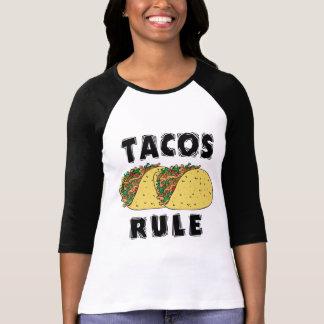 Senhoras da regra do Tacos Tshirt