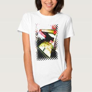 Senhoras do jukebox de Recordstore Tshirts