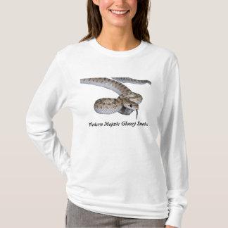 Senhoras ocidentais AA Hoody do cobra lustroso do Camiseta
