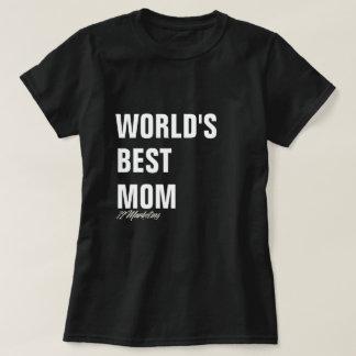 Senhoras pai & mim superiores da camisa da mamã do