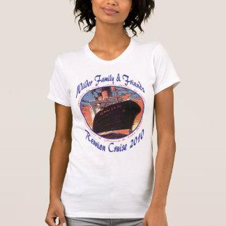 Senhoras pequenos camiseta