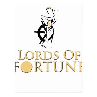 Senhores Fortuna Expeditionware Cartão Postal